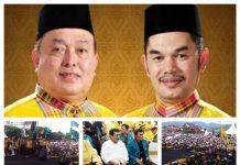 Pasangan Salim Mengga-Hasanuddin Mas'ud